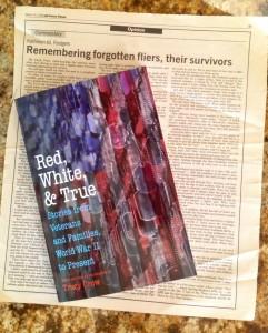 Red, White and True anthology, Potomac Books, Univ. Neb Press, origianl essay kathleenmrodgers
