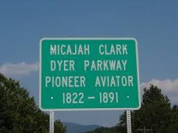 clark dyer road sign