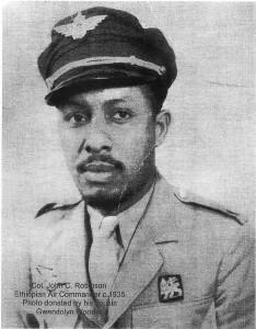 jcr in ethiopian air corps uniform
